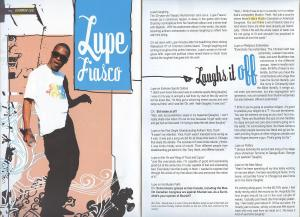 """CampusX"" Magazine, Fall 2007.  Lupe Fiasco Feature Interview."