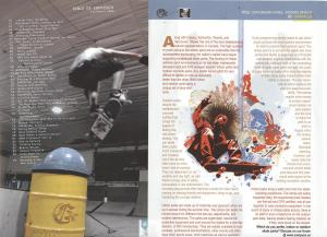 CampusX Magazine, Fall/Winter 2006. Skateboard Parks:  Indoor or Out?