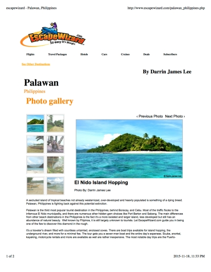 escapewizard - Palawan, Philippines