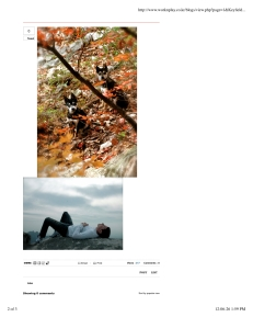 """WorkNPlay Blog""- Bukhansan Photos, p.2, 2010."